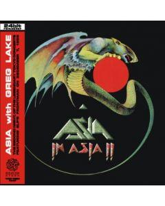 ASIA feat. GREG LAKE - Asia In Asia II: Live in Tokyo, JP 1983 (mini LP / CD) SBD