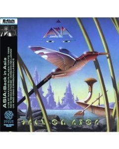 ASIA - Back In Asia: Live in Tokyo, JP 1990 (mini LP / 2x CD)