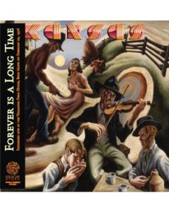 KANSAS - Forever Is A Long Time: Live In Bryn Mawr, PA 1976 (mini LP / CD) SBD