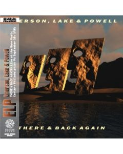 EMERSON LAKE & POWELL - There & Back Again: Live in Philadelphia, PA 1986 (mini LP / CD) SBD