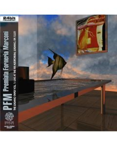 PREMIATA FORNERIA MARCONI - The Lugano Tapes Vol. 1: Live in Lugano, NL 2001 (mini LP / CD)