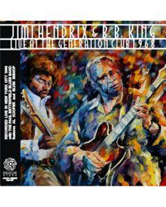 JIMI HENDRIX & B.B. KING - Live at Generation Club: New York, NY 1969 (mini LP / CD)