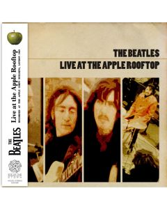 THE BEATLES - Live at the Apple Rooftop: London UK, 1969 (mini LP / CD)