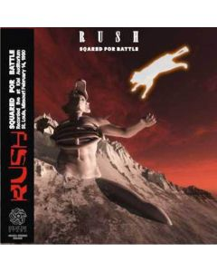 RUSH - Squared For Battle: Live in St. Louis MO, 1980 (mini LP / 2x CD )