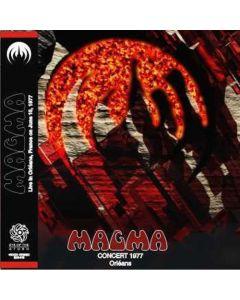 M4GMA - Concert Orléans: Live in Orléans, FR 1977 (mini LP / 2x CD)
