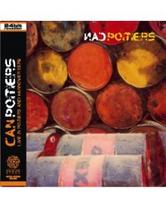 CAN - Poitiers: Live in Poitiers, FR / Hannover, DE 1976 (mini LP / 2xCD) SBD