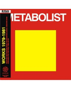 METABOLIST - Works: Recordings 1978-1981 (mini LP / CD) studio