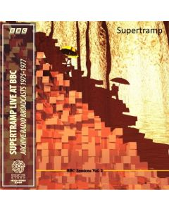 SUPERTRAMP - BBC Sessions Vol. 2: Live in London, UK 1974-1977 (mini LP / 2x CD) SBD