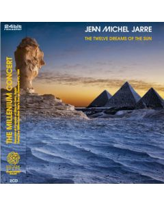 JEAN-MICHEL JARRE - Twelve Dreams Of The Sun: Live in Giza, EG 1999-2000 (mini LP / 2x CD) SBD