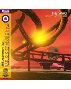 THE WHO - Radio City Music Hall: Live in New York NY, 1989 (mini LP / 2x CD) SBD