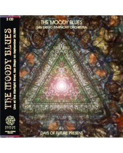 THE MOODY BLUES (w. San Diego Symphony O.) - Days Of Future Present: Live in San Diego, CA 1994 + Acoustic Set (mini LP / 2x CD