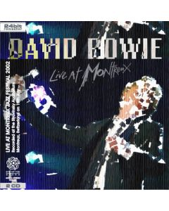 DAVID BOWIE - Live At Montreux Jazz Festival: Montreux, CH 2002 (mini LP / 2x CD) SBD