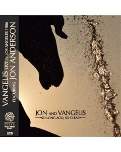VANGELIS feat. JON ANDERSON - So Long Ago, So Clear: Live in Los Angeles, CA 1986 (mini LP / 2x CD)