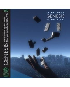GENESIS - In The Glow Of The Night: Live in New York, NY 1986 (mini LP / 2x CD) SBD