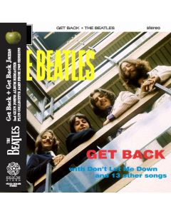 THE BEATLES - Get Back + Get Back Jams: 2nd Glyn Johns album remaster 1969 (mini LP / CD)