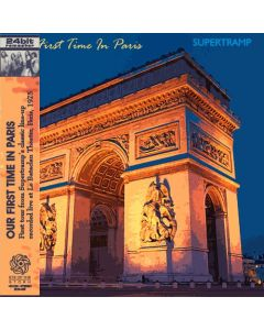 SUPERTRAMP - Our First Time In Paris: Live in Paris, FR 1975 (mini LP / CD) SBD