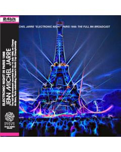 JEAN-MICHEL JARRE - Electronic Night, Full M6: Live in Paris, FR 1998 (mini LP / CD) SBD