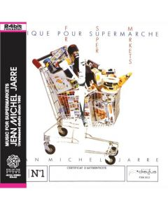 JEAN-MICHEL JARRE - Music For Supermarkets: Unreleased studio album 1983 (mini LP / CD)