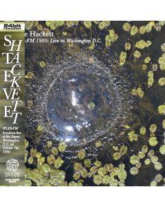 STEVE HACKETT - WLIR FM: Live in Washington, DC 1980 (mini LP / CD) SBD