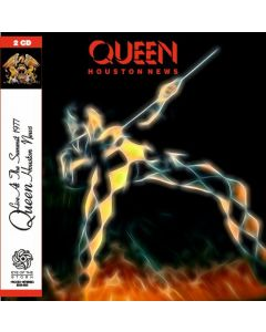QUEEN - Houston News: Live in Houston, TX 1977 (mini LP / 2x CD) SBD