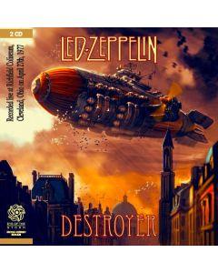 LED ZEPPELIN - Destroyer: Live in Cleveland OH, 1977 (mini LP / 2x CD) SBD