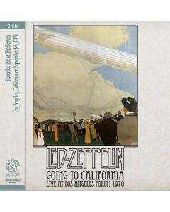 LED ZEPPELIN - Going To California: Live in Los Angeles, CA 1970 (mini LP / 2x CD)