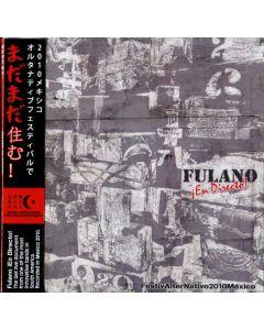 FULANO - ¡En Directo!: Live in Querétaro, México 2010 (mini LP / CD) Deluxe edition