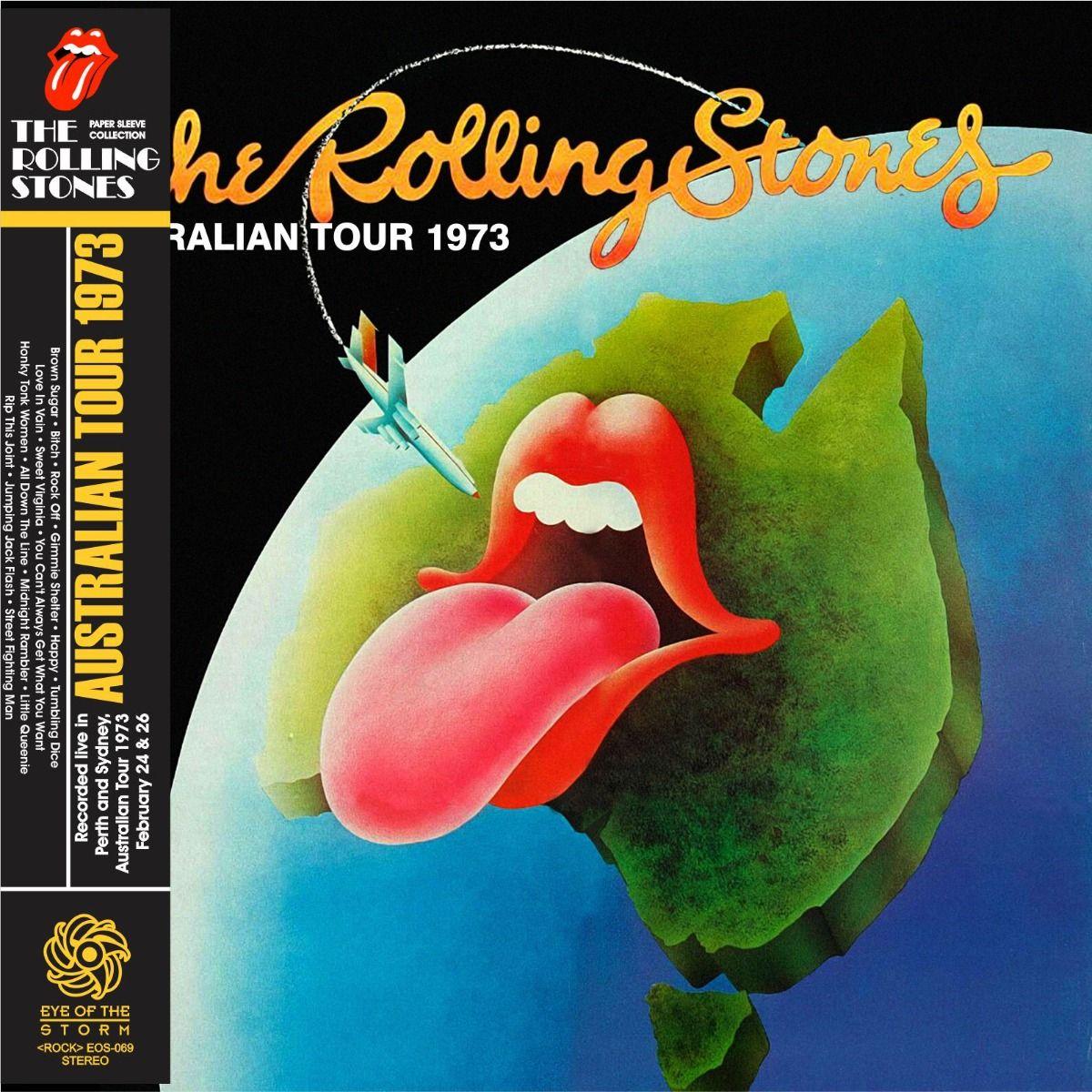 ROLLING STONES Australia 1972