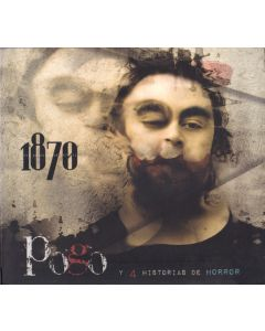 1870 (MIL OCHOCIENTOS SETENTA) -Pogo y 4 Historias de Horror, studio album Mexico 2011 (CD digipack)