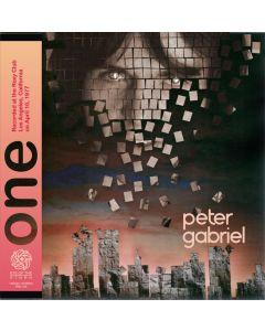 PETER GABRIEL - One: Live in Los Angeles, CA 1977 (mini LP / 2x CD)