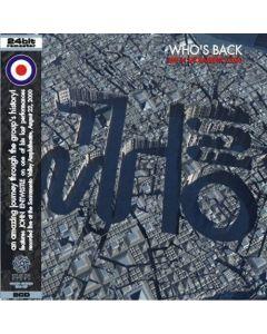 THE WHO - Who's Back: Live in Sacramento, CA 2000 (mini LP / 2x CD)