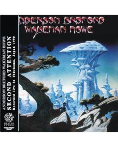 ANDERSON BRUFORD WAKEMAN HOWE - Second Attention: Live in Yokohama, JP 1990  (mini LP / 2x CD) SBD