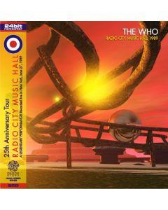 THE WHO - Radio City Music Hall: Live in New York NY, 1989 (mini LP / 2x CD) SBD