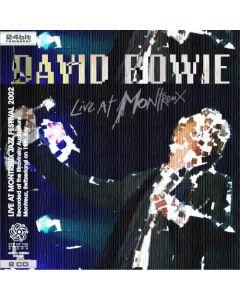 DAVID BOWIE - Live At Montreux Jazz Festival: Montreux, CH 2002 (mini LP / 2x CD) SBD