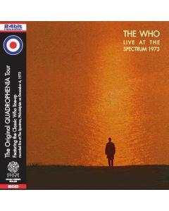 THE WHO - Live at the Spectrum: Live in Philadelphia PA, 1973 (mini LP / 2x CD) SBD