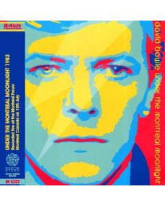 DAVID BOWIE - Under The Montreal Moonlight: Live in Montreal, CA 1983 (mini LP / 2x CD) SBD