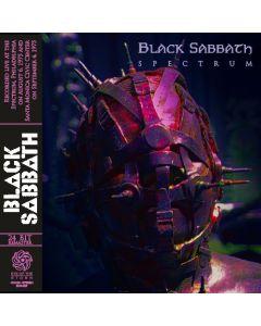 BLACK SABBATH - Spectrum: Live in Philadelphia PA / Santa Monica CA 1975 (mini LP / CD) SBD