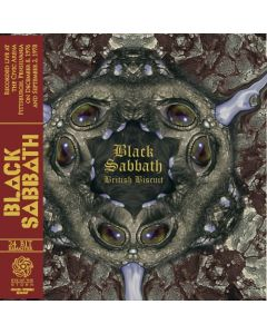 BLACK SABBATH - British Biscuit, Live in Pittsburgh, PA 1976/1978 (mini LP / CD) SBD