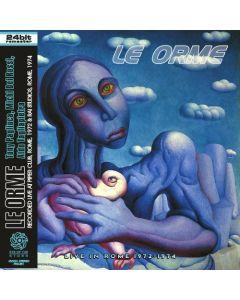 LE ORME - Live in Rome 1972-1974: Live in Rome, IT 1972-1974 (mini LP / CD) SBD