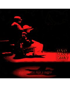OXOMAXOMA - Espíritus en Rojo y Negro, studio album, Mexico 2002 (CD jewelcase)