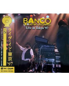 BANCO DEL MUTUO SOCCORSO - Live in Tokyo, JP 1997 (CD digipack) SBD