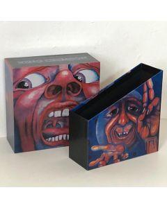 "KC - In The Court, Empty Promo Drawer Box 2""1/2 (Japan mini-LP sizes)"