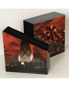 """PINK FLOYD - Empty Promo Drawer Box 2""""1/2, The Warm Thrill Of Confusion (Japan mini-LP sizes)"""