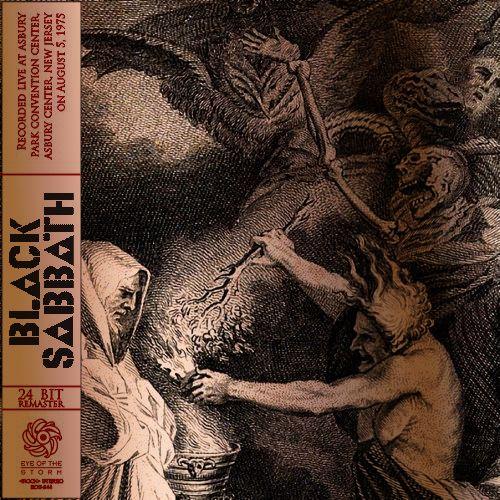 BLACK SABBATH Asbury Park 1975