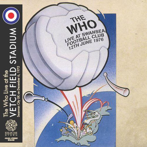 THE WHO at Swansea Stadium 1975
